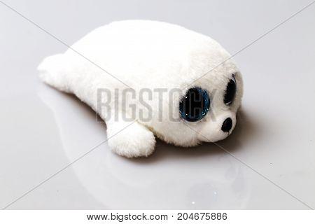 White Plush Seal
