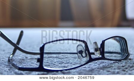 Glasses Close Up