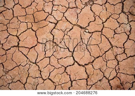 climate change global warming closeup cracked soil