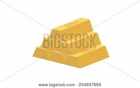Pyramid Of Gold Ingots