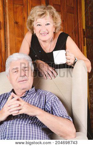 Portrait Of Elderly Couple.