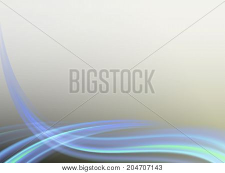 gentle, light background with smooth blue bends