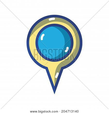 magnifying glass symbol to explore and search vector illustration
