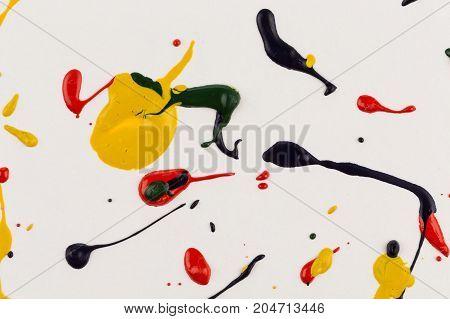 Paint Drops Splash Paper