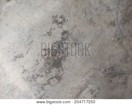 Grey Concrete Floor Texture Background