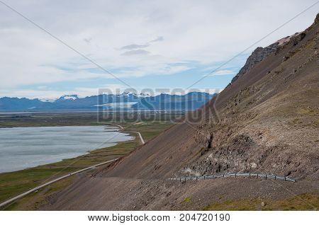 Almannaskard Slides In East Iceland