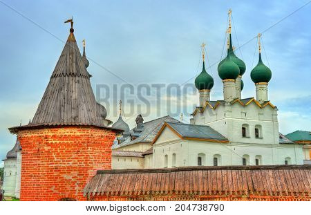 Rostov Kremlin in Yaroslavl Oblast, the Golden Ring of Russia