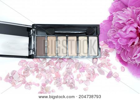 the eye shadows, makeup eye, concept cosmetics
