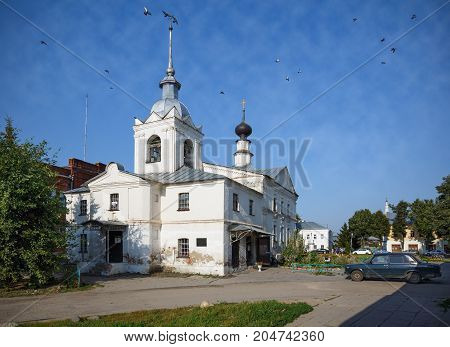 St. Nicholas church (Nikolskaya church) in the historical center of Suzdal. Vladimir region, Golden Ring, Russia.