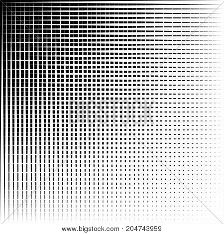 Abstract Black And White Background Of Vertical And Horizontal Straight Lines. Pattern Vector Backgr