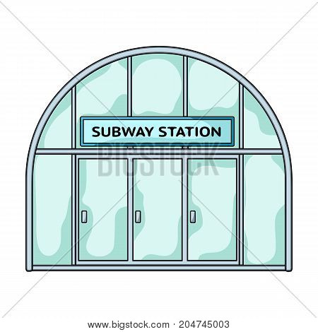 Metropolitan, single icon in cartoon style.Metropolitan vector symbol stock illustration .