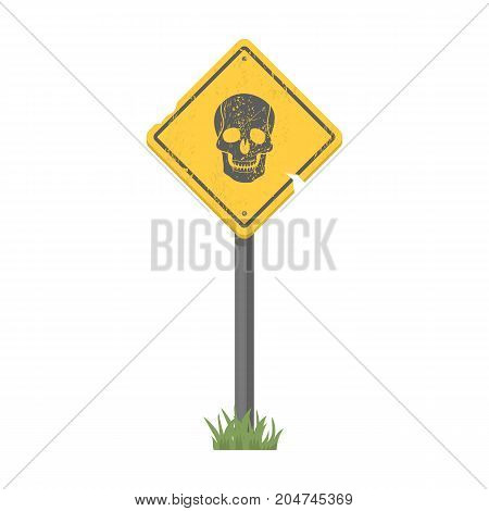Sign, single icon in cartoon style.Sign, vector symbol stock illustration .