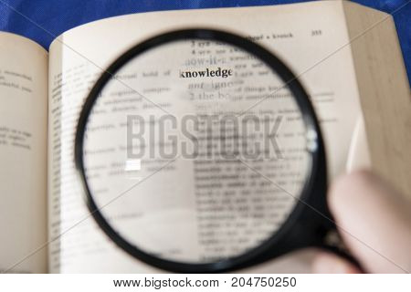 knowledge concept and idea - stock image