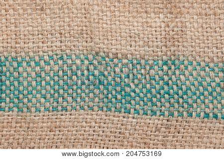 gunny sack texture of thailand