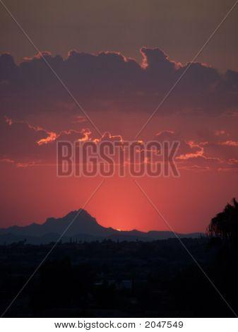 Mountain Sunset 1859