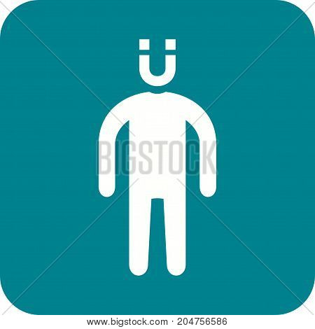 Attractive, people, young icon vector image. Can also be used for Personality Traits. Suitable for web apps, mobile apps and print media.