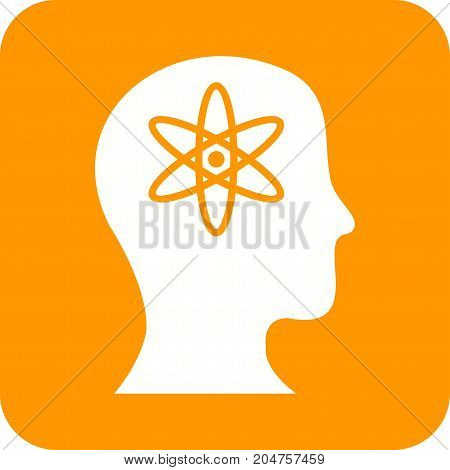 Mind, intelligence, artificial icon vector image. Can also be used for Data Analytics. Suitable for web apps, mobile apps and print media.