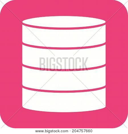 Data, center, server icon vector image. Can also be used for Data Analytics. Suitable for web apps, mobile apps and print media.