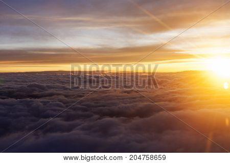 Gray Clouds Sunrise