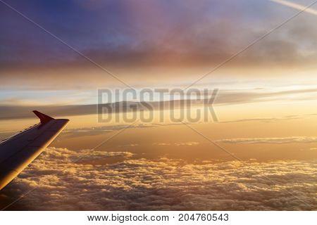 Sunrise Over Wing