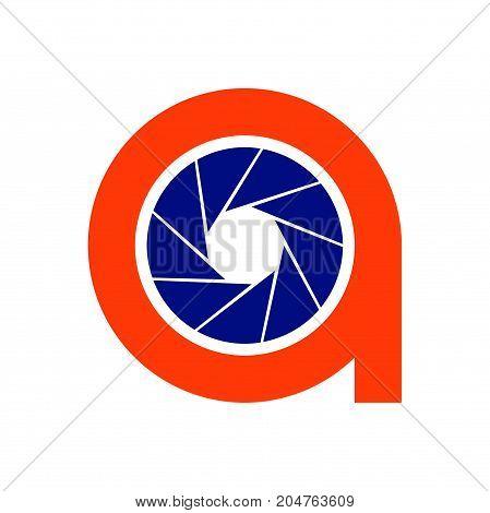 q photography logo design, circle photography logo design