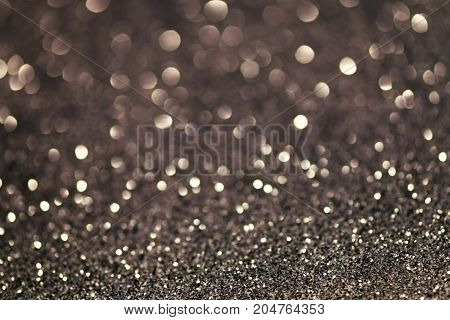 Festive Christmas abstract bokeh background shining lights holiday sparkling atmosphere celebration ambient