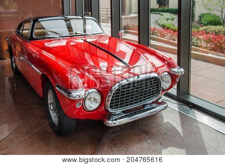 1953 Ferrari 250Mm Vignale Spyder Presented In Blackhawk Museum. Ca. Usa