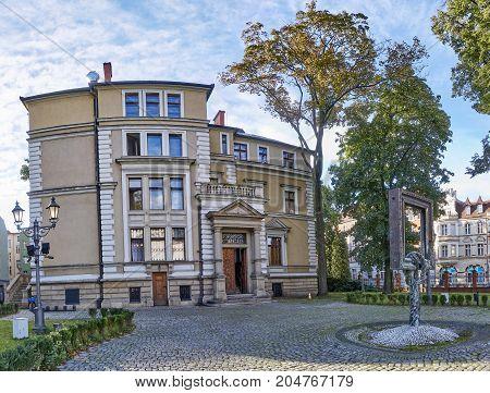 Gliwice, Poland - September 14, 2017: Museum Villa Caro On 14 Se