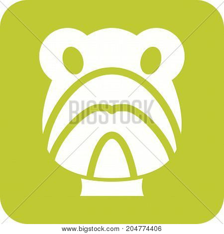 Turtle, sea, green icon vector image. Can also be used for Animals Faces. Suitable for mobile apps, web apps and print media.