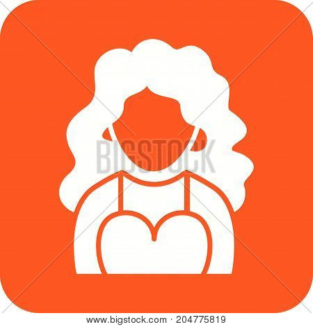 Dress, party, fashion icon vector image. Can also be used for Avatars. Suitable for web apps, mobile apps and print media.