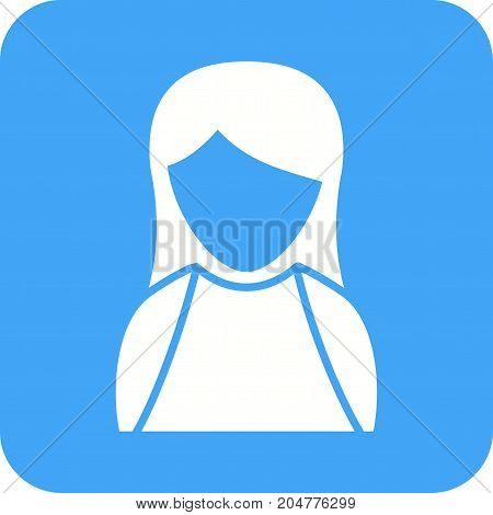 Dress, fashion, elegant icon vector image. Can also be used for Avatars. Suitable for use on web apps, mobile apps and print media.