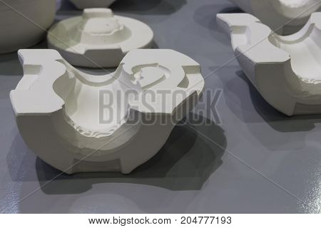 White Mould For Ceramic Slip Casting Production Process
