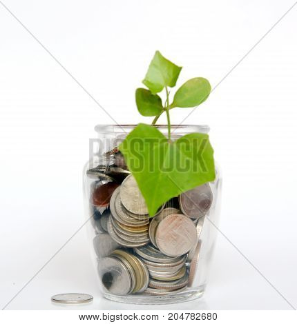 save money concept, save coin concept, coins money. Coins stacked on each other in different positions. Money concept.