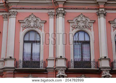 Nevsky Prospect In St. Petersburg, Russia
