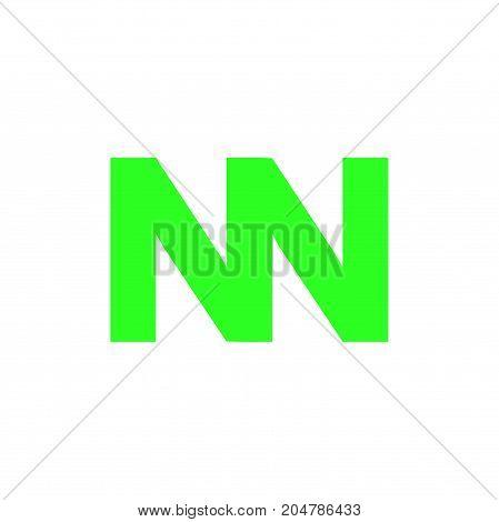 nn initial logo design, letter initial logo design