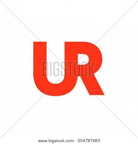 ur initial logo design, intial logo design, letter logo design