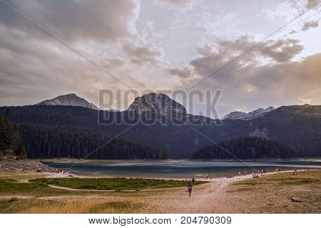 Black Lake in the Municipality of Žabljak in northern Montenegro