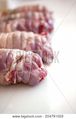 Veal Rost On A Table