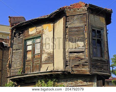 Second Floor Of Old Building