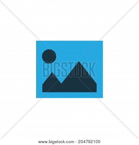 Premium Quality Isolated Picture Element In Trendy Style.  Image Colorful Icon Symbol.