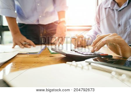 Annual Meeting Of Business Colleagues Company Provides Statistical Reports On Operations Such As Sal