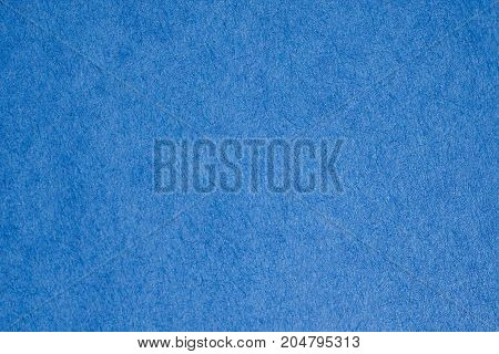Deep blue color paper texture. Art craft surface