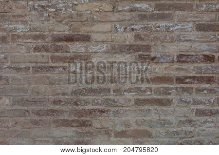 background of old brick wall dark color
