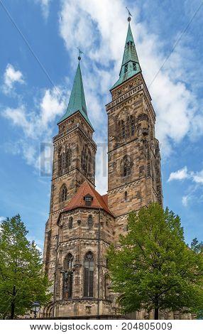 St. Sebaldus Church is a medieval church in Nuremberg Germany