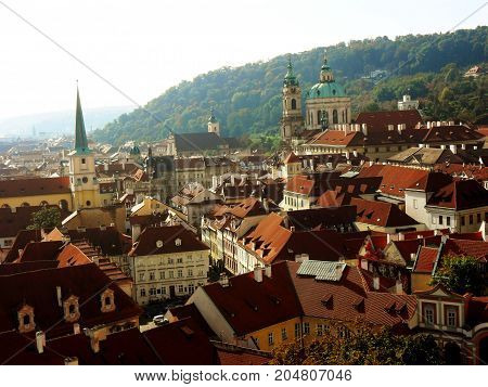 Travel to main sity of Czech Republic the Prague