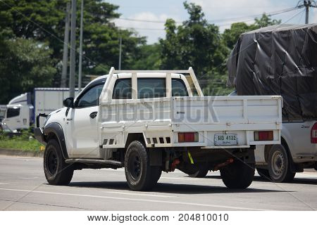 Private Pickup Truck Car Toyota Hilux Revo With Dump.