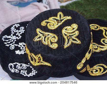 Skullcap - the Tatar national men's festive headdress