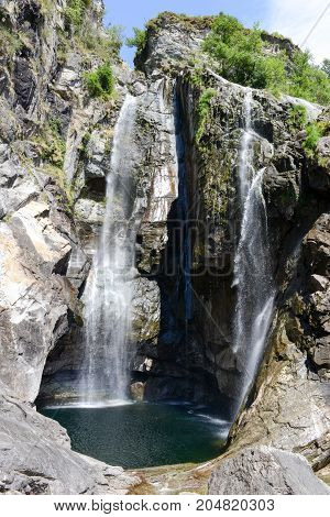 The Waterfall Of Maggia