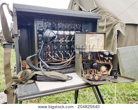 Telegraph And Radio Vintage Military From Second World War Two