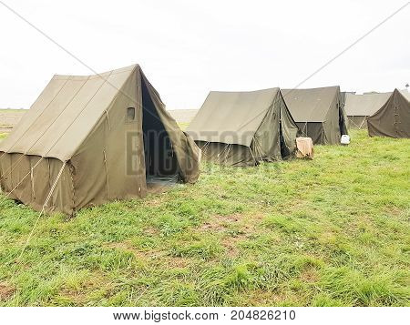 The Army Military Camp, Nobody, Anywhere In The World